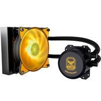 Com seu estilo preto fosco, cabeamento trançado e efeitos de iluminação RGB, o ML120L RGB é um design original da Cooler Master e permite uma entrada