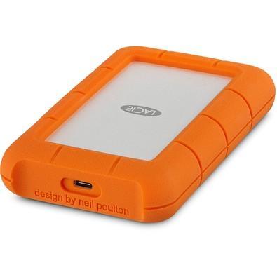 A unidade portátil LaCie Rugged USB-C combina durabilidade com USB-C de ponta. O resultado é um cofre para seus dados compatível com computadores da n