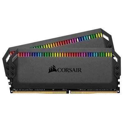 A Memória Corsair Dominator RGB DDR4 redefine a memória DDR4 premium, com uma fabricação de alumínio superior, chips de memória de alta frequência cui