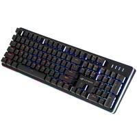 O teclado semi-mecânico KG-300BK foi desenvolvido para aumentar seu desempenho nos jogos, proporciona maior precisão em partidas intensas, por possuir