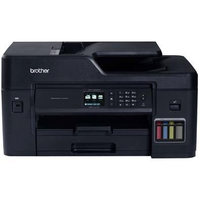 O multifuncional jato de tinta colorido MFC-T4500DW InkBenefit Tank da Brother é ideal para pequenas e médias empresas que buscam impressão rápida, al