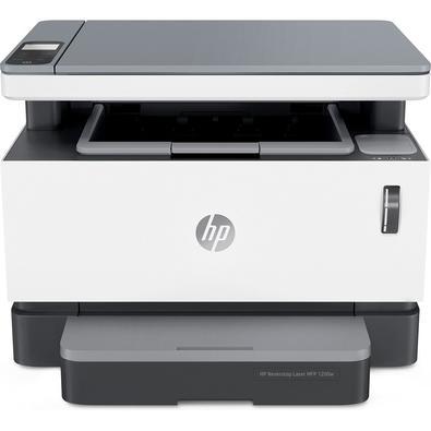 A Multifuncional HP Laser Neverstop 1200w proporciona impressões e cópias rápidas, além da versatilidade de uma multifuncional. Imprima e digitalize v