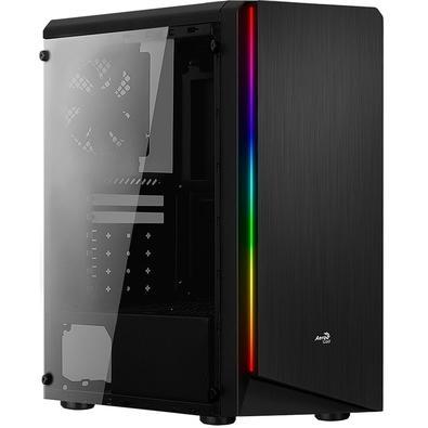 O RIFT é um gabinete Mid Tower de alto desempenho, com um design em RGB que exibe 13 modos de iluminação exclusivos, 6 fluxos RGB e 7 modos de cores e
