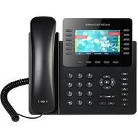 O GXP2170 é um telefone IP avançado, empresarial e ideal para usuários ocupados que lidam com grandes volumes de chamadas. Esse telefone IP empresaria