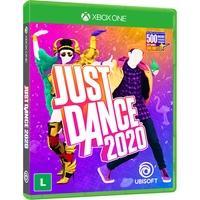 """Just Dance® 2020 O jogo de dança com mais de 500 musicas, sendo 40 faixas de sucessos no topo das paradas como """"God Is a Woman"""" de Ariana Grande a """"Hi"""