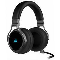 O Headset Gamer Corsair Virtuoso RGB Wireless, oferece uma experiência de áudio de alta fidelidade e conforto o dia inteiro, possui fones com espumas