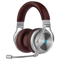 O CORSAIR VIRTUOSO RGB Wireless SE proporciona uma experiência de áudio de alta fidelidade e conforto o dia inteiro, por meio de seus auriculares prem