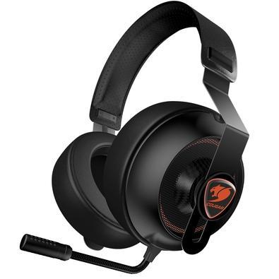 Headset Gamer Cougar Phontum Essential Black, Drivers 40mm - 3H150P40B-0001