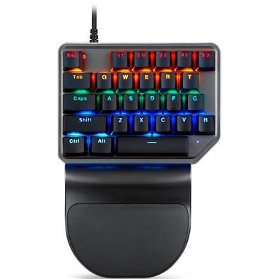 Teclado Mecânico Gamer Motospeed K27, LED Rainbow, Switch Outemu Red, ANSI - FMSTC0055VEM
