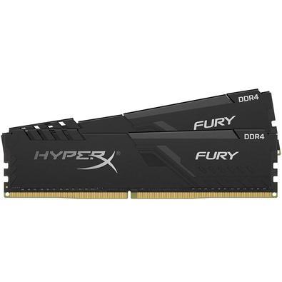 Perfeito para quem procura desempenho incrível, é assim que podemos definir os novos Kits de Memória RAM HyperX FURY DDR4. Com uma velocidade incrível