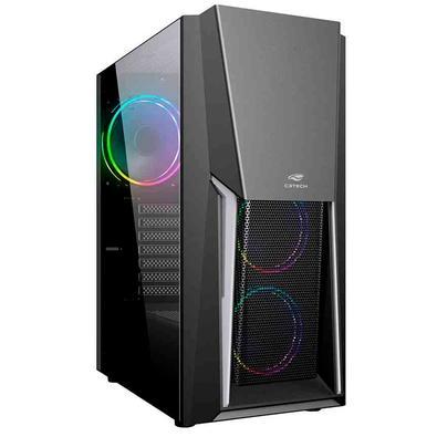 Com design moderno, o gabinete MT- G670 e o que faltava para o seu setup gamer. Desenvolvido para jogos e maquinas de alta performance. Sua lateral e