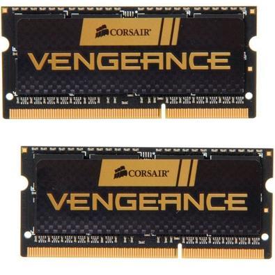 Os kits de upgrade de memória para laptop Vengeance foram projetados para obter desempenho máximo de notebooks e laptops.