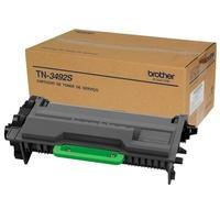 O Toner Brother TN3492S para Brother é um cartucho que rende em média 20.000 impressões baseadas em impressões em papel A4 com 5% de cobertura depende