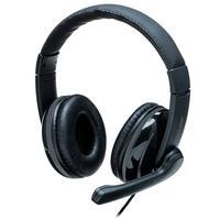 Headset Pro Multilaser, desenvolvido com acabamento Premium e sistema que minimiza ruídos externos e é ótimo para longas jornadas, pois os earpads são