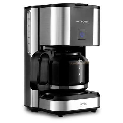 A Cafeteira Britânia BCF15I 550W oferece capacidade para até 15 cafés. Sua bebida predileta na quantidade perfeita! Com sistema corta pingo, que permi
