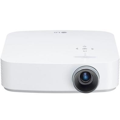 O projetor CineBeam TV Smart tem bateria integrada para você assistir seu filme sem se preocupar. Reproduz em resolução 1080p fornecendo altíssima nit