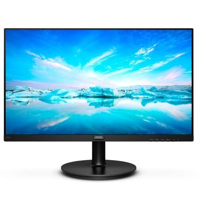 O monitor de visão ampla Philips V-Line oferece uma visualização além dos limites, excelente relação custo-benefício com recursos essenciais. O Adapti