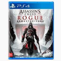 Jogo Assassin´s Creed Rogue PS4 TRANSFORME-SE EM O MAIOR CAÇADOR DE ASSASSINOS! O capítulo mais sombrio da franquia de Assassin's Creed®, Assassin's C
