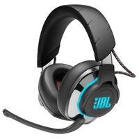 Fique um passo à frente da concorrência. O fone de ouvido JBL Quantum 800 oferece a você um posicionamento de áudio especial preciso, 2.4 GHz sem perd