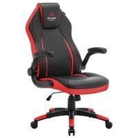 Cadeira Gamer Alpha Gamer Sirius Black Red - AGSIRIUSBKRED.