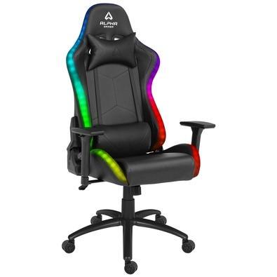 Cadeira Gamer Alpha Gamer Cygnus RGB. Sistema RGB que personaliza a tua área de jogo com iluminação, escolha a cor ou o efeito de iluminação que mais