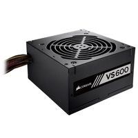 Inicie o seu novo PC com uma fonte de alimentação CORSAIR VS com fornecimento de energia certificado 80 PLUS com até 85% de eficiência operacional. Ca