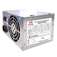 Fonte de energia para computadores Atx 20+4 Pinos 200W Reais. Cooler de Funcionamento Silencioso Embutido Design Para Facilitar a Ventilacao Protecao