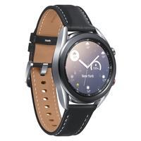 O Galaxy Watch3 tem um design clássico e refinado. Sua caixa de metal é feita com material premium em Aço Inoxidável, além de resistente seu formato p