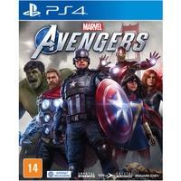 Os Vingadores da Marvel Um jogo épico de ação e aventura em terceira pessoa que combina uma história cinematográfica original com jogabilidade individ
