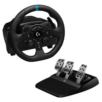 O Logitech G923 é um volante de alto desempenho para corridas que revoluciona a experiência nos jogos para Playstation 5, Playstation 4 e PC. Reprojet