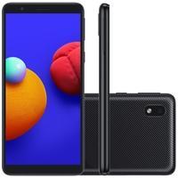 Smartphone Samsung Galaxy A01 Tela grande com melhor visualização Com seu display HD+ de 5,3 polegadas, o Galaxy A01 Core oferece uma experiência imer
