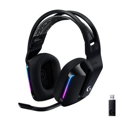 Conheça o G733, um Headset Gamer desenvolvido para se adequar ao seu estilo. Adote a tecnologia sem fio LIGHTSPEED de 2,4 GHz, alcance de até 20 m e a