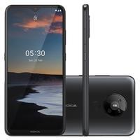 Smartphone Nokia 5.3, 13MP, 128GB, Tela 6.55´, Carvão + Capa Protetora - NK007