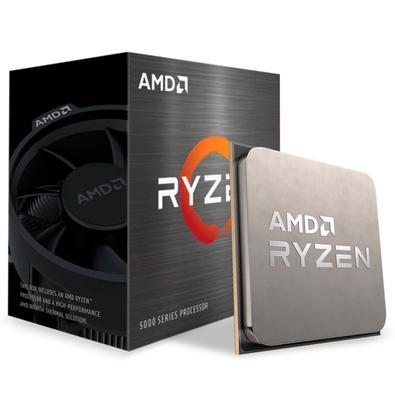 Processador AMD Ryzen 5 5600X Jogue com os melhores 6 núcleos incríveis para quem quer apenas jogar. Imbatível no jogo Obtenha o desempenho de jogos d