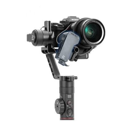 Obtenha maior controle sobre suas fotos de gimbal com o Estabilizador Gimbal Eletrônico Crane 2 da Zhiyun-Tech com Motor Follow Focus para Câmeras DSL