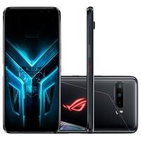 Smartphone Gamer Asus ROG Phone 3 Construído para satisfazer até o gamer mais hardcore, tem a nova tela de 144Hz/1ms incrível, que deixa a concorrênci