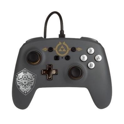 Controle para Nintendo Switch, EnWired Controller Zelda, Hylian Shield - 1518384-01