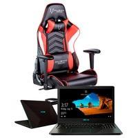 Notebook Gamer Asus Ryzen 5 3500U, 8GB, 1TB, NVIDIA GTX1050 4GB, Windows 10 + Cadeira Gamer Husky Gaming Storm