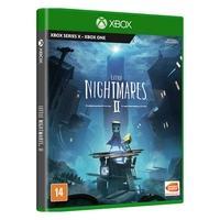 Little Nightmares II Um jogo de aventura e suspense em que você joga como Mono, um garotinho preso em um mundo que foi distorcido por uma transmissão