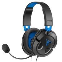 Eleve o áudio do jogo e conforto no PlayStation ao próximo nível com o headset para jogos TURTLE BEACH RECON 50P. O RECON 50P oferece o mais atual des
