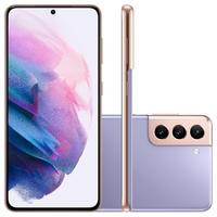 "Smartphone Samsung Galaxy S21, Galaxy S21, S21, 128GB, 8GB RAM, Tela Infinita de 6.2"", Câmera Tripla Traseira de 12MP (Wide) + 64MP (Telephoto) + 12MP"