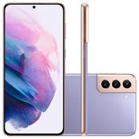 """Smartphone Samsung Galaxy S21+, 128GB ou 256GB, 8GB RAM, Tela Infinita de 6.7"""", Câmera Tripla Traseira de 12MP (Wide) + 64MP (Telephoto) + 12MP (Ultra"""