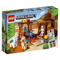 LEGO Minecraft The Trading Post (21167) está repleto de recursos populares do Minecraft para inspirar intermináveis dramatizações imaginativas: uma mi