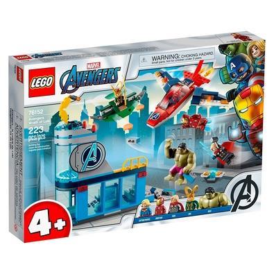 LEGO Marvel Vingadores - A Ira de Loki (76152) inspira os mais novos a brincarem com aventuras de super-heróis sem fim! E, enquanto jogam adquirem hab