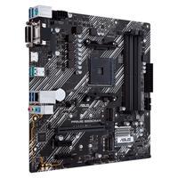 Placa Mãe Asus PRIME B550M-K Recursos: • Soquete AMD AM4: pronto para processadores AMD Ryzen ™ de 3ª geração • Refrigeração abrangente: dissipador de