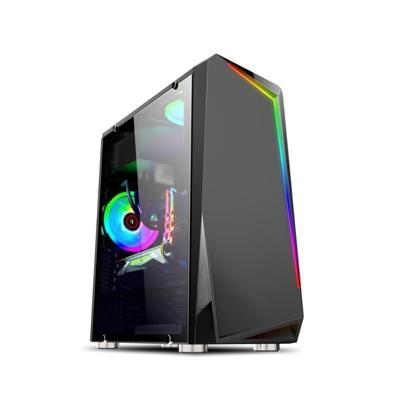 O Gabinete Gamer Brazil PC BPC-C8410 conta com uma incrível iluminação RGB, painel Lateral e Frontal em Vidro temperado, suporta os principais hardwar