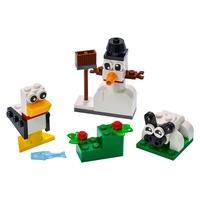 O conjunto LEGO® Classic Blocos Brancos Criativos (11012) está repleto de ideias e inspiração para desbloquear a criatividade das crianças. Construtor