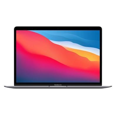 Uma potência no ar Com o chip M1 da Apple, nosso notebook mais fino e leve ficou irreconhecível. Por dentro. A CPU e a GPU estão mais rápidas, até 3,5