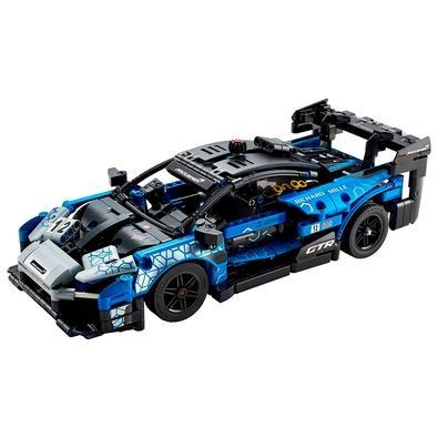 O LEGO Technic McLaren Senna GTR (42123) é uma ótima escolha ? crianças e os fãs adultos da McLaren irão adorar! Repleto de recursos autênticos inspir