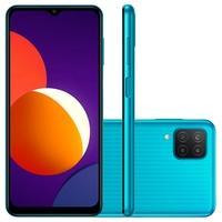 Samsung Galaxy M12 Mais display significa mais espaço para jogar Expanda sua visão com o Infinity-V Display de 6.5 polegadas do Galaxy M12 e veja o qu
